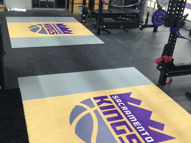 Logo your new or existing weightlifting platforms - Custom Logos by American Platforms