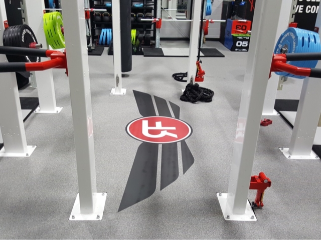Custom Rubber Flooring and Weightlifting Platforms Logos - American Platforms