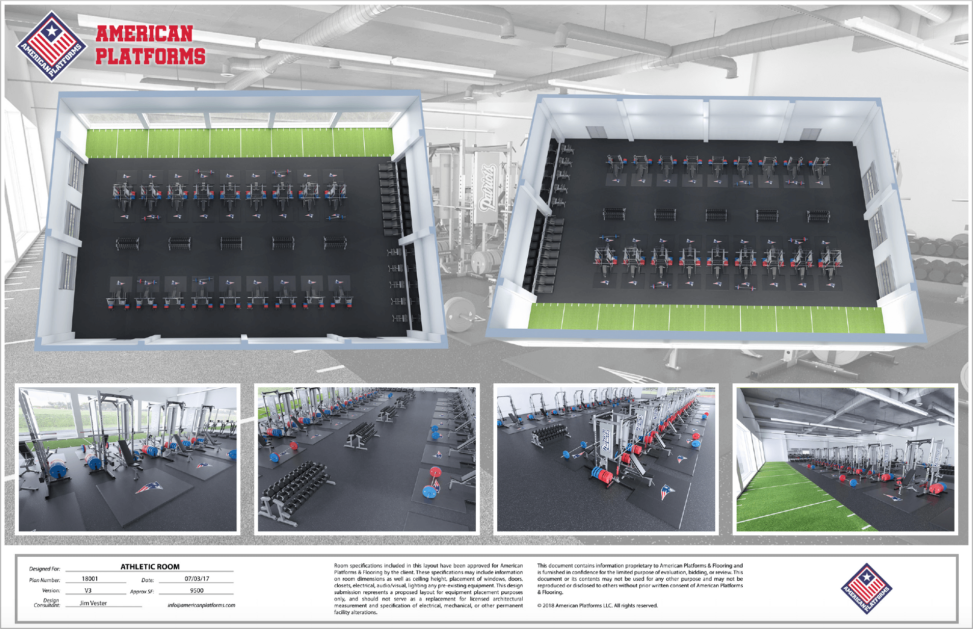 Weight Room Layout and Design Help