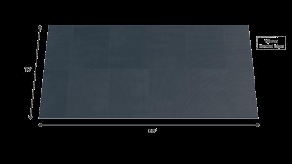 Multi athlete training surface - 10' x 20' - 19mm SVR weightlifting platform