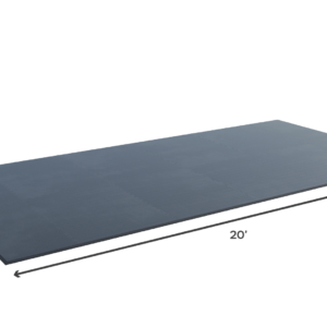 4 to 6 athletes - all-rubber SVR weightlifting platform